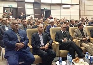 مراسم تکریم و معارفه فرمانداران اسبق و جدید شیراز