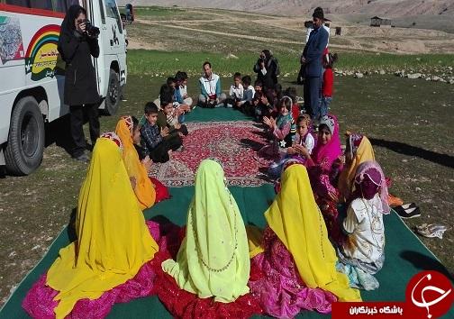 جشن کودکانههای انقلاب کانون پرروش فکری در حیات آباد هارکله برگزار شد