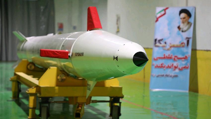 موشک «دزفول» با برد ۱۰۰۰ کیلومتر رونمایی شد