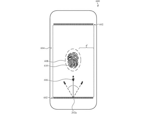 اپل در حال طراحی حسگر اثر انگشت جدید برای آیفونهای آینده +تصویر