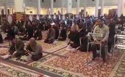 مراسم سوگواری شهادت حضرت فاطمه زهرا (ص) در شاهچراغ + فیلم