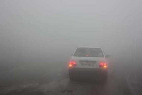 باشگاه خبرنگاران -کلیه محورهای مواصلاتی استان زنجان مه آلود است