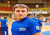 باشگاه خبرنگاران -داور مهابادی مسابقات بسکتبال کشور را قضاوت میکند