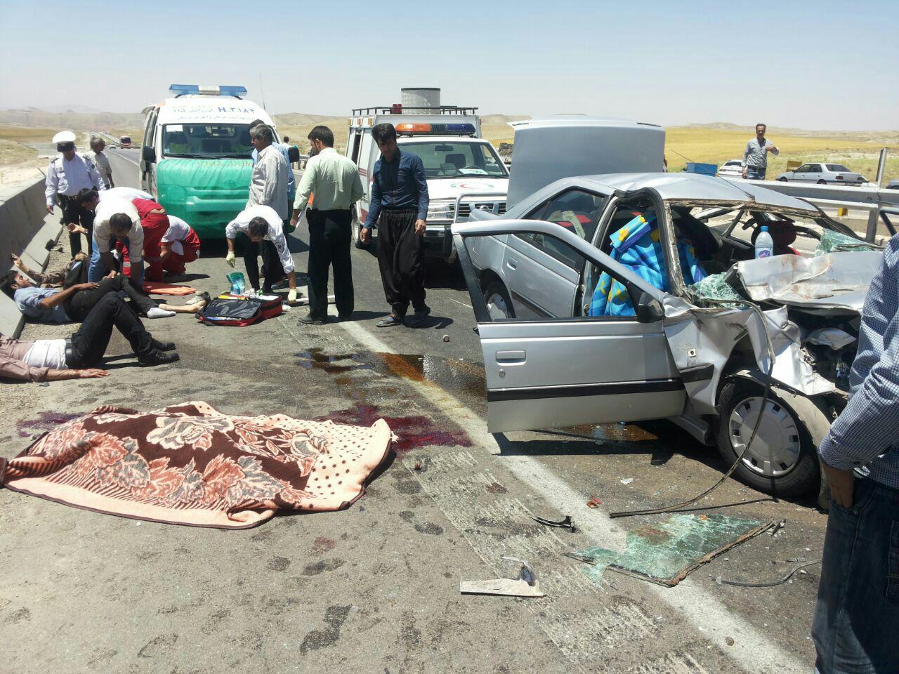 روند افزایشی و نگران کننده کشتههای تصادفات/ درخواست پلیس برای جرایم رانندگی