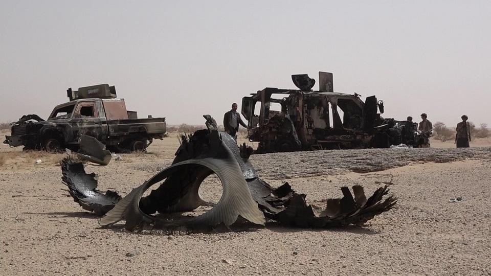 مزدوران ائتلاف غربی - عربی - صهیونیستی در استان تعز نقرهداغ شدند + عکس