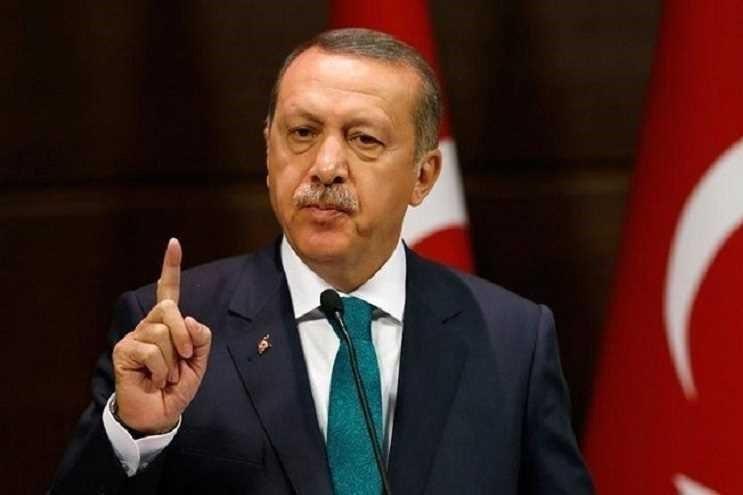 رئیسجمهور ترکیه: تمام گروههای تروریستی سلاحهای غربی دارند