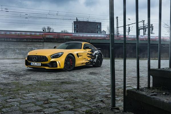 مرسدس AMG GT R با تیونر جدید قدرتمندتر از همیشه ظاهر میشود +تصاویر