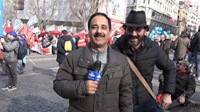 حمید معصومی نژاد، قربانی آخرین مدل خبرنگار آزاری! + فیلم شیوه جدید اذیت حمید معصومی نژاد حین گفتن پلاتو