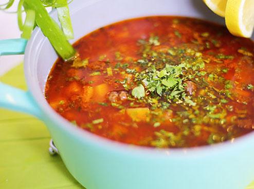 طرز تهیه یک نوع سوپ خوشمزه مخصوص زمستان