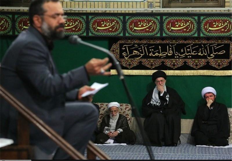 مداحی محمود کریمی شام شهادت حضرت زهرا(س) حسینه امام خمینی(ره)