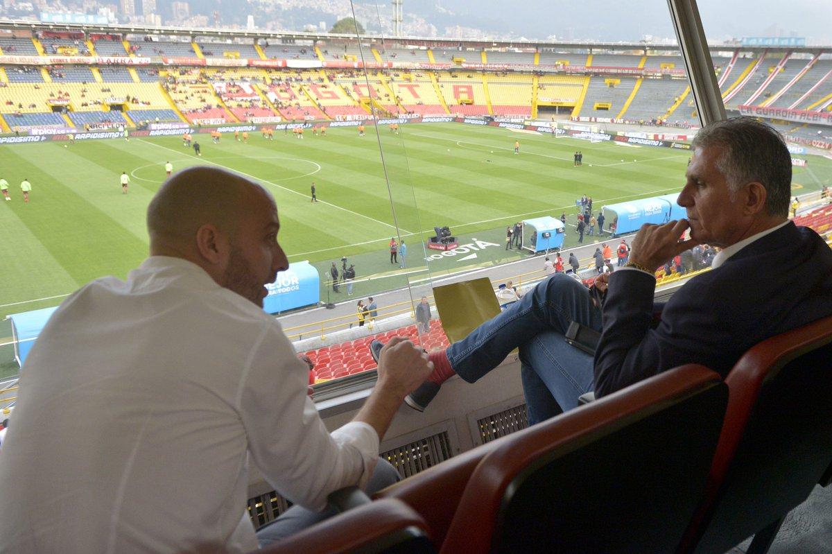 کلمبیایی ها گربه را دم حجله کشتند/ کی روش اولین بازی لیگ را تماشا می کند