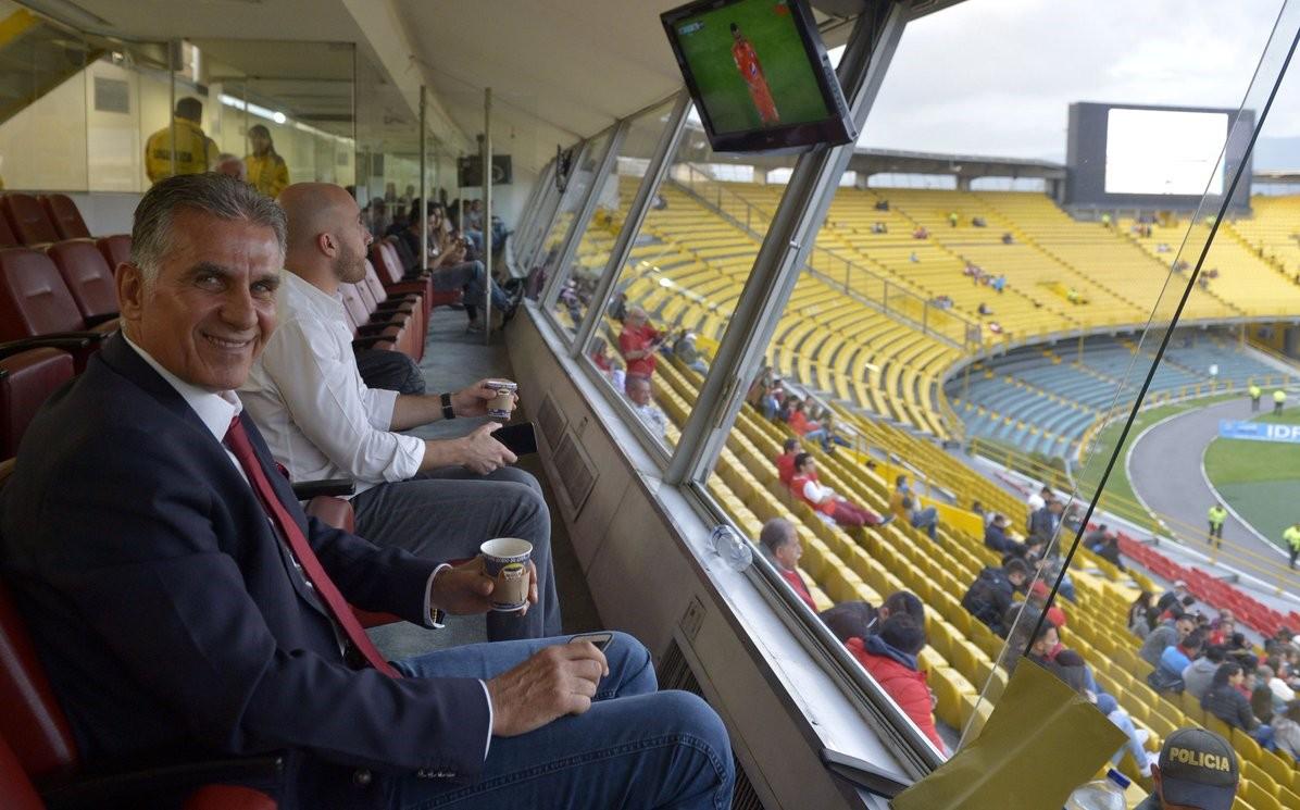 تشکر کلمبیاییها از کی روش برای تماشای بازی لیگ کشورشان