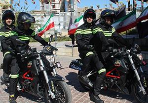 راهاندازی واحد امداد موتوری گاز در شیراز