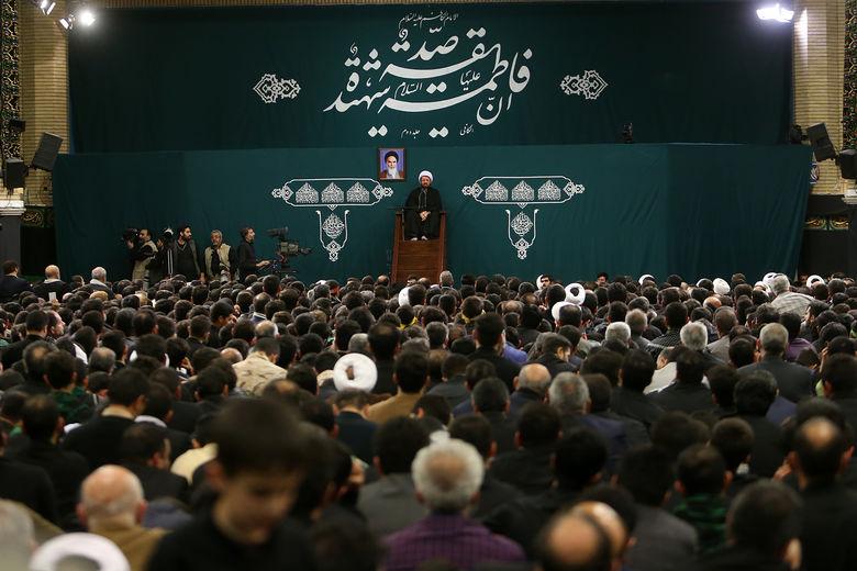 سخنرانی حجت الاسلام عالی شام شهادت حضرت زهرا(س) حسینه امام خمینی(ره)