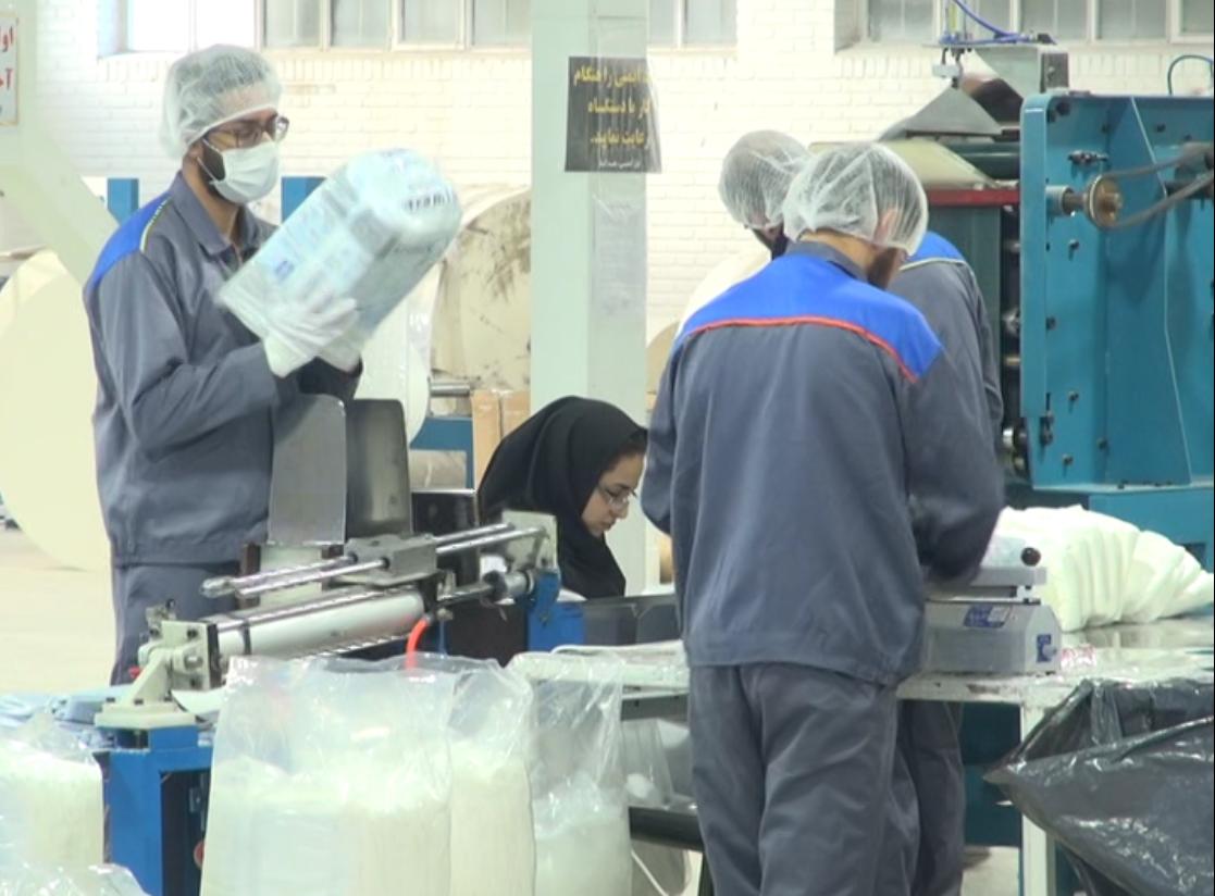کارخانجات راکد سرمایه ملی کشور/ صدای تولید در کارخانه ای که 70 درصد کارگران آن ناشنوا هستند طنین انداز شد