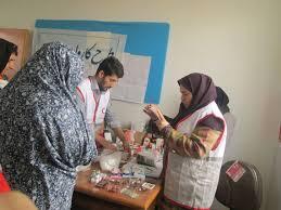 بهره مندی ۱۶۰۰ نفر از خدمات کاروان سلامت و امید در فهرج