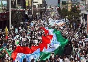 فریادهای دشمن شکن در راهپیمایی ۲۲ بهمن،لرزه بر اندام استکبار میاندازد