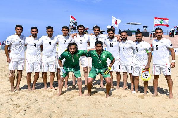 شکست تیم ملی فونبال ساحلی در اولین بازی دوستانه