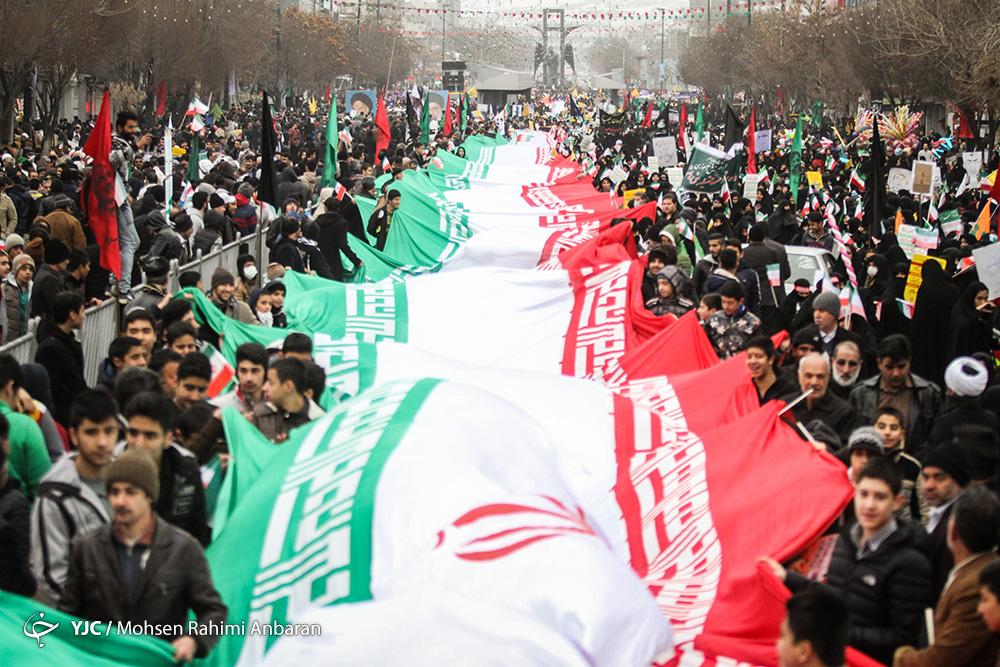 گزارش باشگاه خبرنگاران جوان از راهپیمایی ۲۲ بهمن ۹۷ تهران