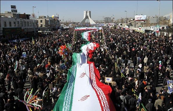 حاشیه های جالب راهپیمایی ۲۲ بهمن ۹۷ تهران+فیلم و تصاویر