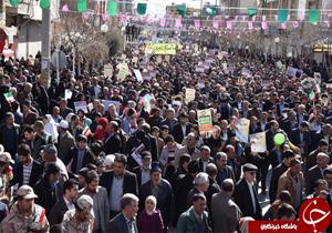 راهپیمایی یوم الله ۲۲ بهمن در چهارمحال و بختیاری آغاز شد
