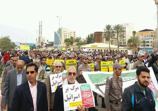 عکسها و حاشیههای راهپیمایی ۲۲ بهمن ۹۷ در هرمزگان