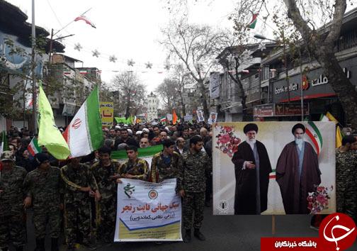 آغاز حضور پرشور دیار علویان در جشن چهل سالگی انقلاب اسلامی +تصاویر