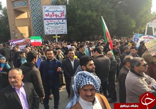 راهپیمایی ۲۲ بهمن ۹۷ در استان خوزستان