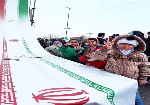 عکس ها و حاشیه های راهپیمایی 22 بهمن 97 استان کرمانشاه