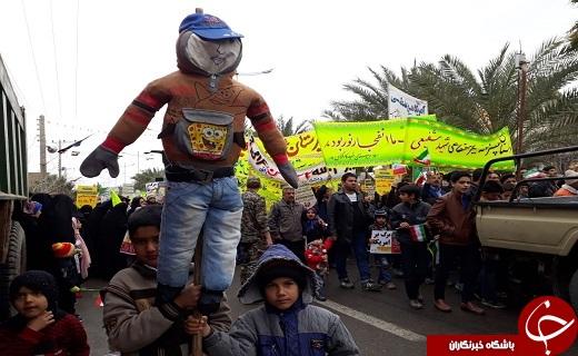 حضور پرشور مردم شهرستانهای یزد در راهپمایی ۲۲ بهمن ۹۷+تصاویر