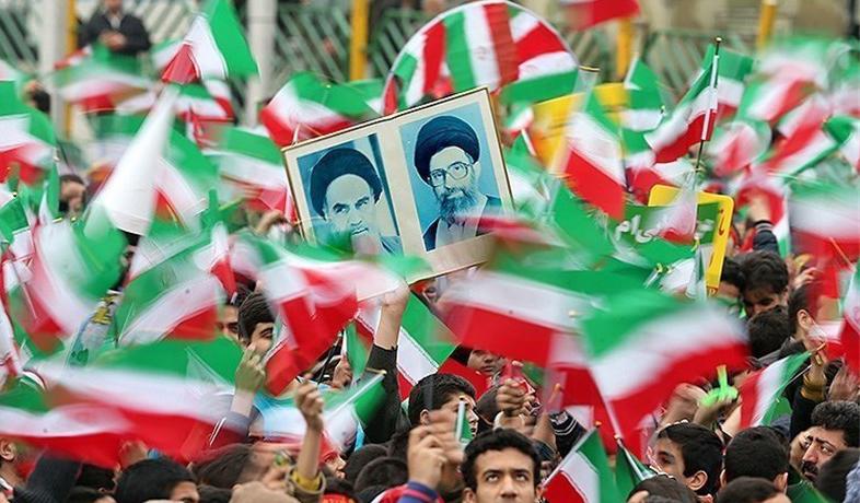 خروش مردم سمنان در جشن چهلمین سالگرد انقلاب اسلامی