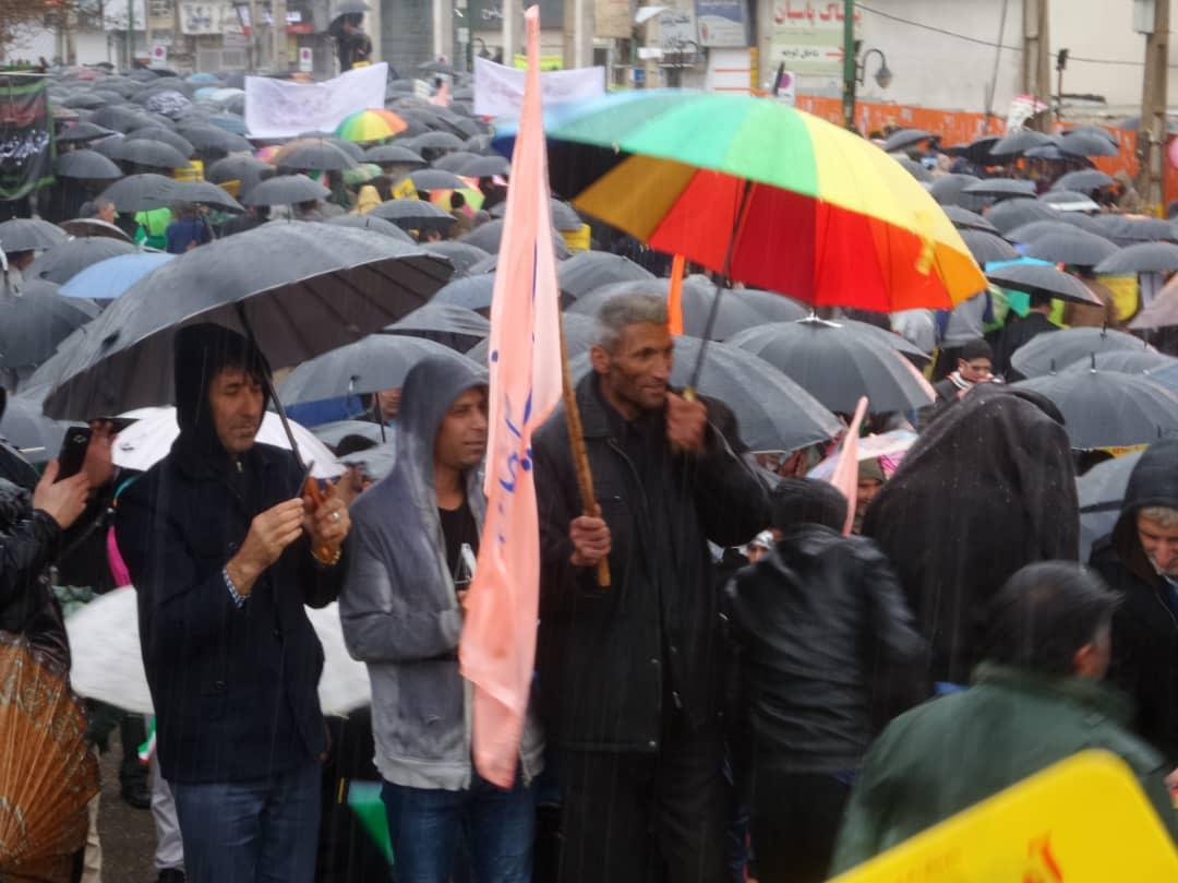 راهپیماییی ۲۲ بهمن ۹۷ در کهگیلویه وبویراحمد