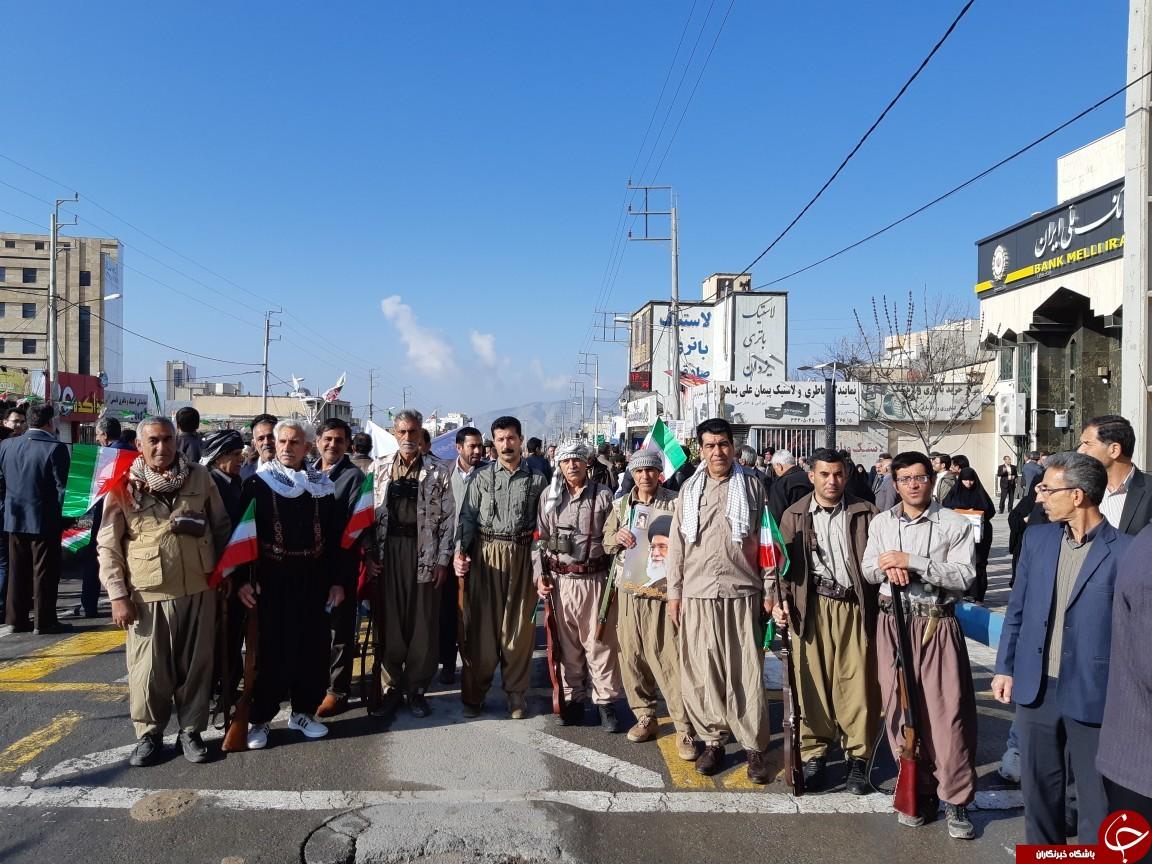 عکسها و حاشیه های راهپیمایی ۲۲ بهمن ۹۷ استان ایلام
