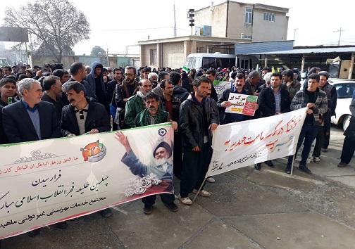 عکسها و حاشیههای راهپیمایی ۲۲ بهمن ۹۷ استان کرمانشاه