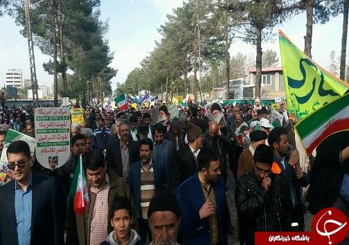 راهپیمایی ۲۲ بهمن ۹۷ در خراسان جنوبی+تصاویر
