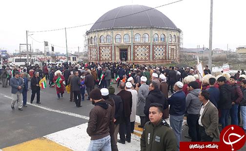 عکسها و حاشیههای راهپیمایی ۲۲ بهمن ۹۷ استان گلستان