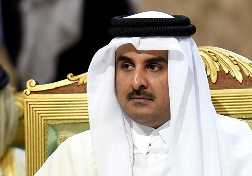 پیام تبریک امیر قطر به مناسب سالگرد پیروزی انقلاب