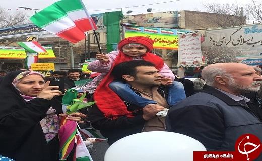 عکسها و حاشیههای راهپیمایی ۲۲ بهمن ۹۷ استان یزد+ تصاویر
