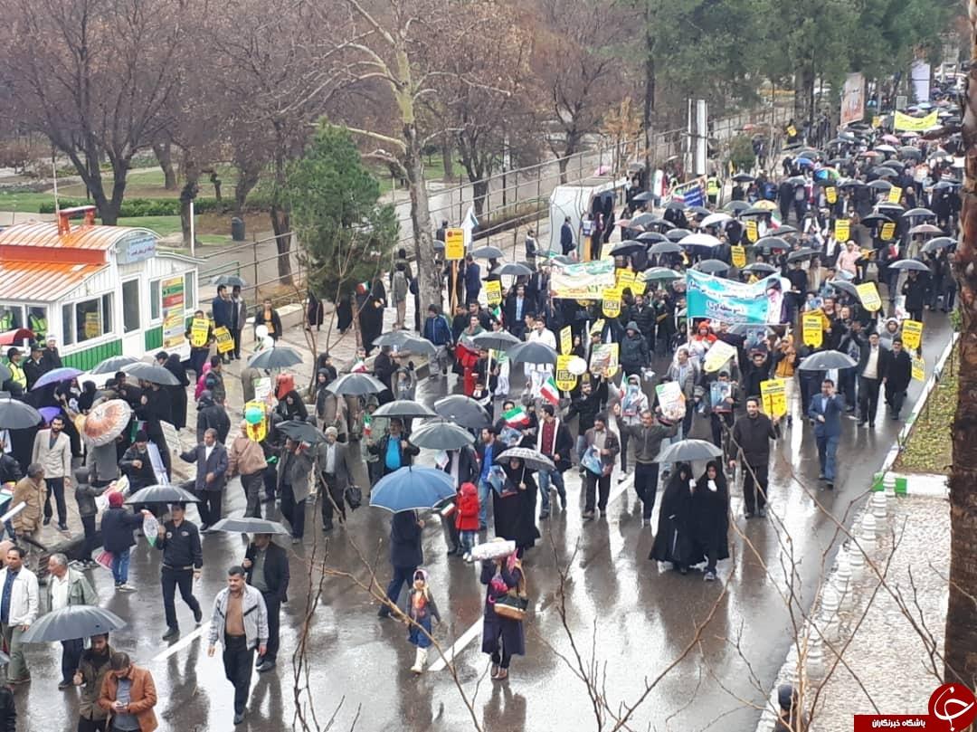 عکسها و حاشیههای راهپیمایی ۲۲ بهمن ۹۷ استان فارس