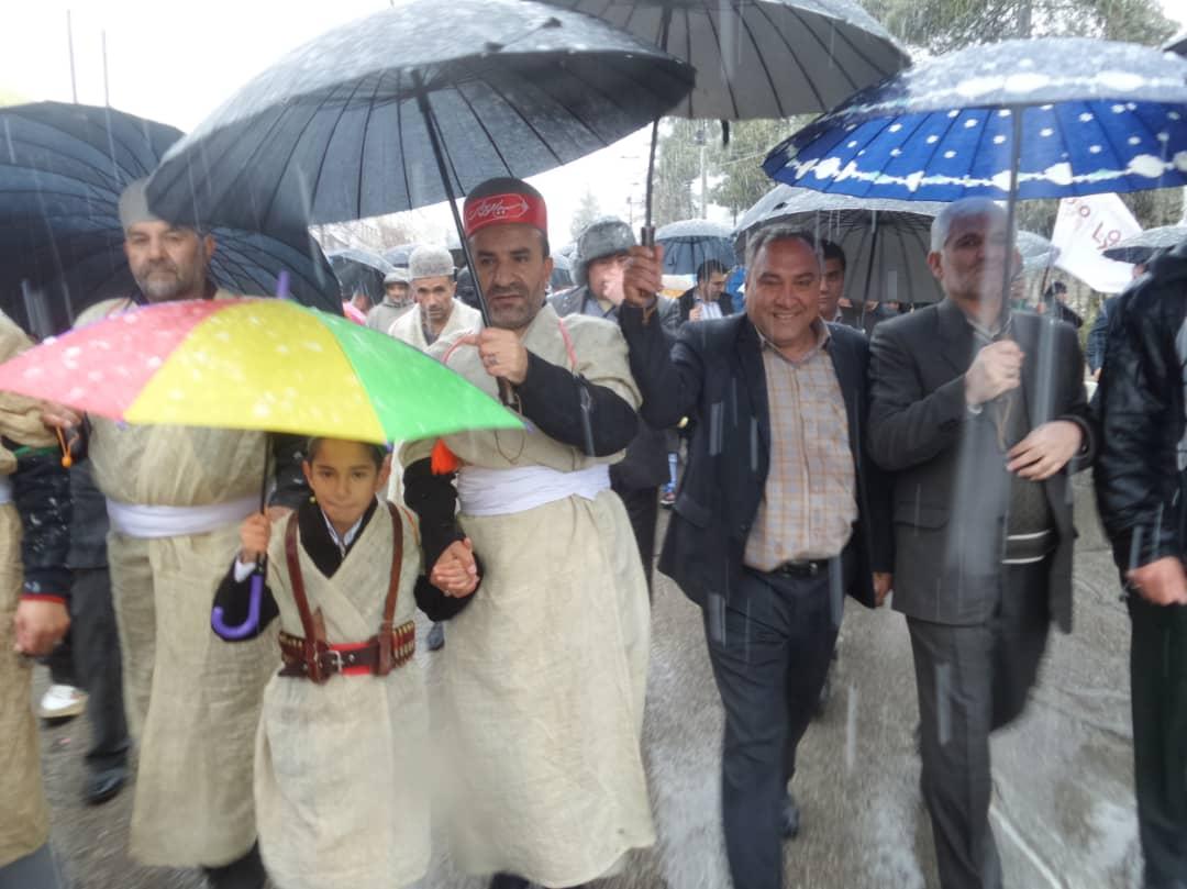 راهپیماییی ۲۲ بهمن ۹۷ در کهگیلویه وبویراحمد + تصاویر