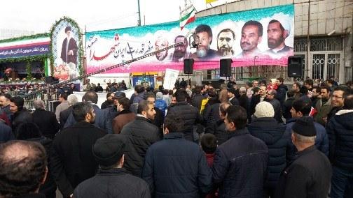 عکس ها و حاشیه های راهپیمایی 22 بهمن 97 استان آذربایجان شرقی