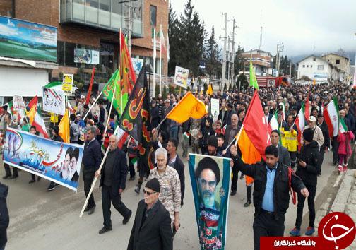 حضور پرشور دیار علویان در جشن چهل سالگی انقلاب اسلامی +تصاویر