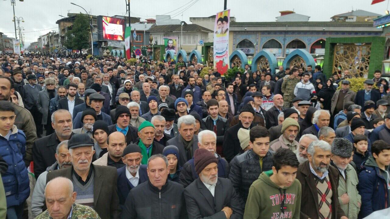 عکس ها و حاشیههای راهپیمایی ۲۲ بهمن ۹۷ در شهرستان آستانه اشرفیه