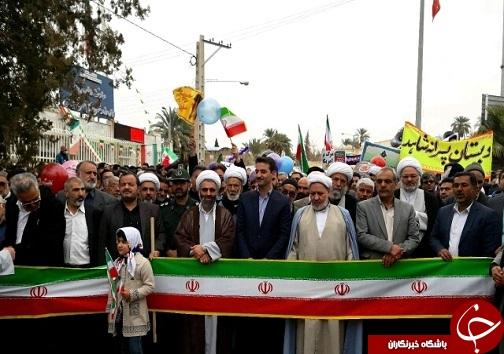 عکس و حاشیه های  راهپیمایی ۲۲ بهمن ۹۷ در خراسان جنوبی