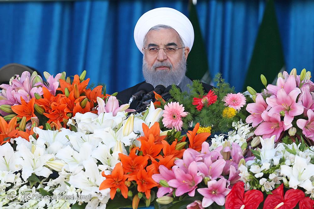 روحانی: حضور مردم در راهپیمایی ۲۲ بهمن ۹۷ نقش برآب شدن نقشههای دشمنان است