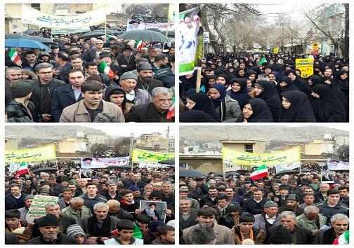 عکسها و حاشیههای راهپیمایی ۲۲ بهمن ۹۷ در استان کرمانشاه