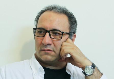 رضا میرکریمی در راهپیمایی ۲۲ بهمن +تصویر