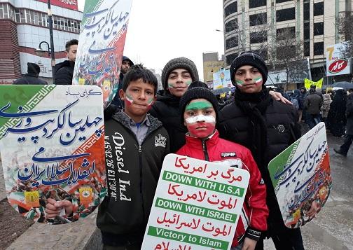 عکس و حاشیههای راهپیمایی ۲۲ بهمن ۹۷ استان اردبیل+ تصاویر