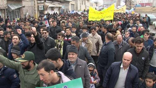 عکس ها و حاشیه های راهپیمایی ۲۲بهمن ۹۷  در استان آذربایجان شرقی