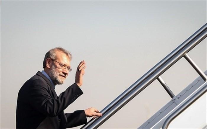 لاریجانی تهران را به مقصد ژاپن ترک کرد
